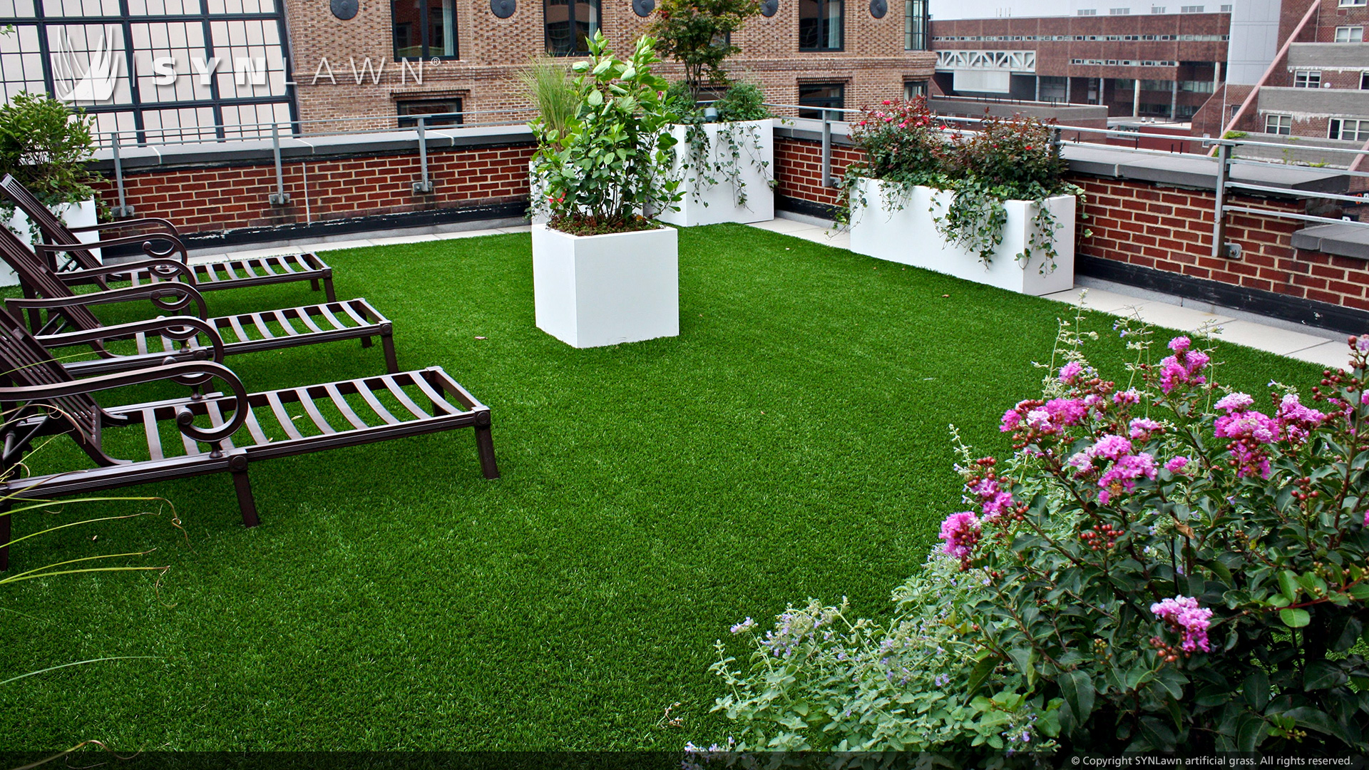 Almeer trading est almeer group for Garden decking with artificial grass